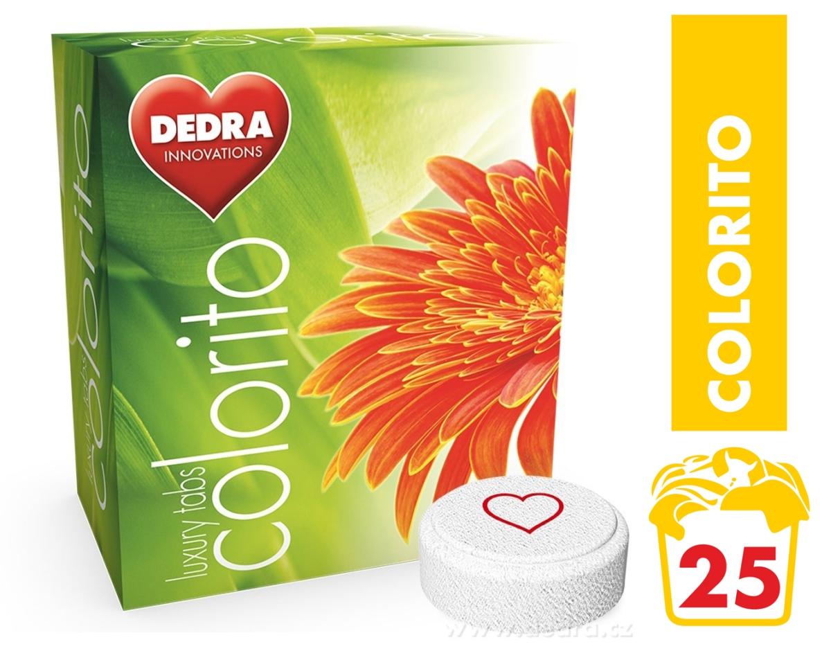 COLORITO tablety na barevné prádlo koncentrované