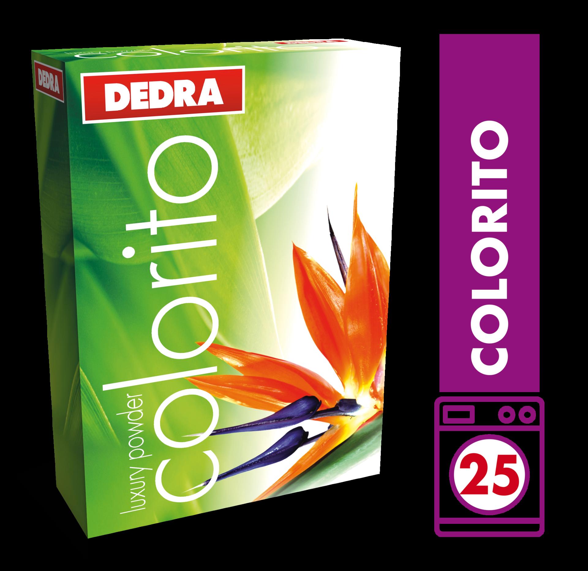 COLORITO prací prášek na barevné prádlo, koncentrovaný