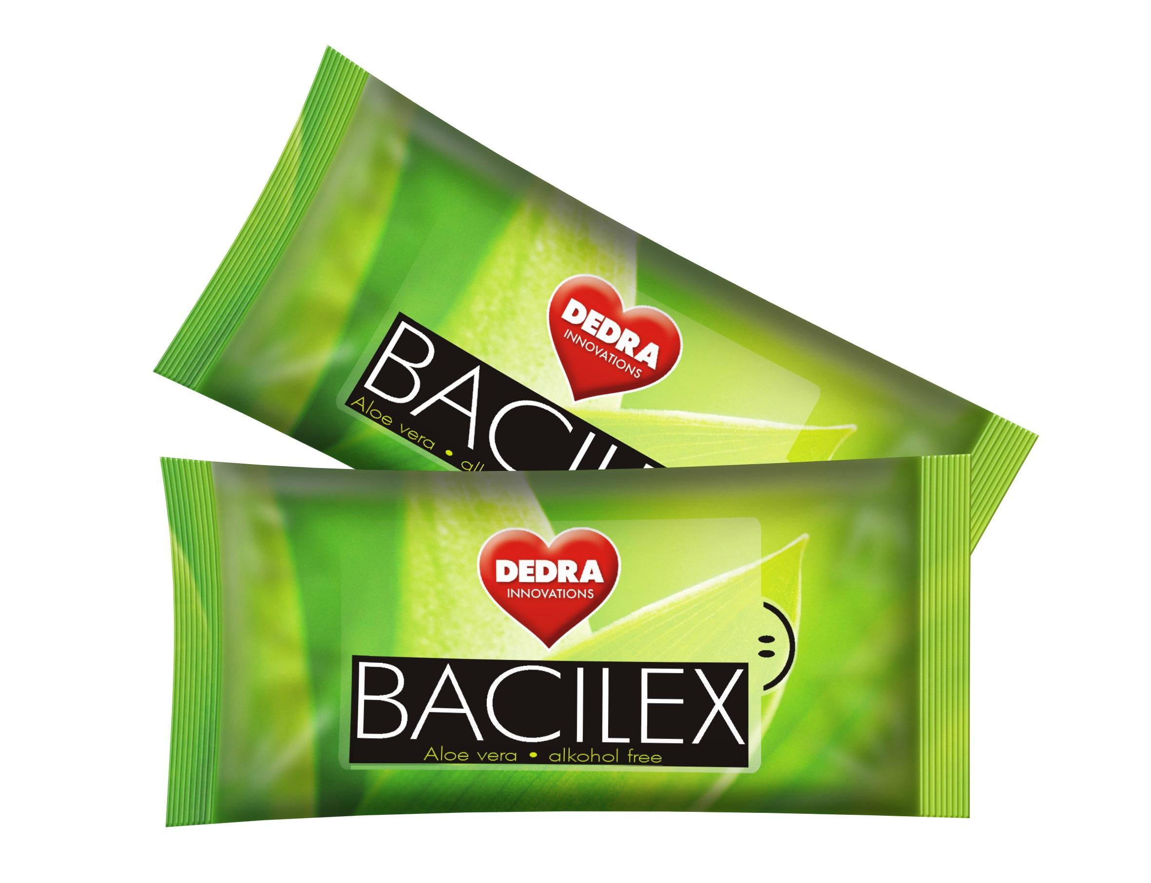 BACILEX vlhčené ubrousky 2x 10 ks