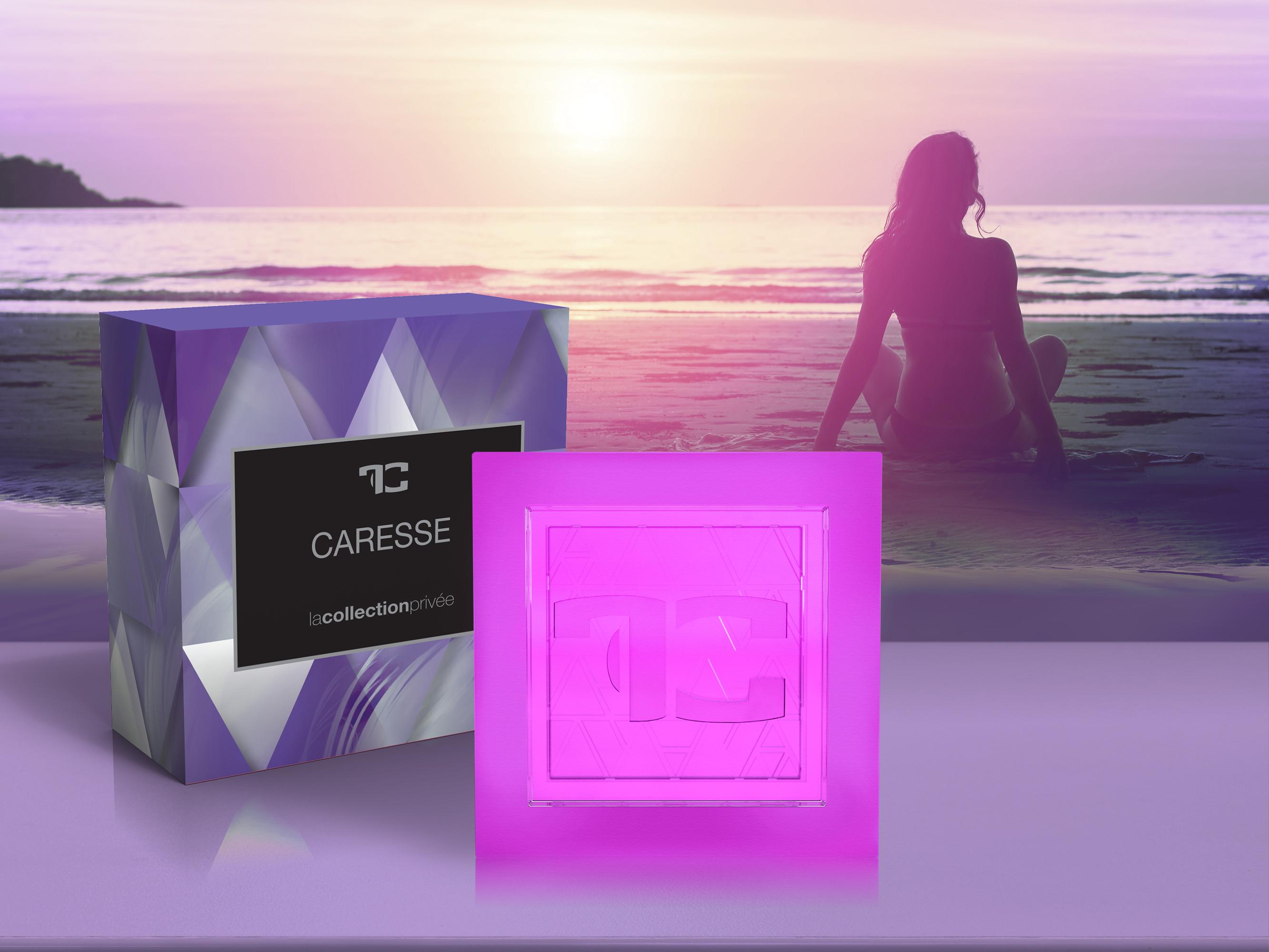 Přírodní glycerinové mýdlo, caresse, LA COLLECTION PRIVÉE