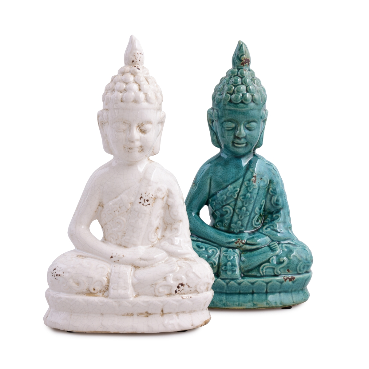 Buddha, keramická soška