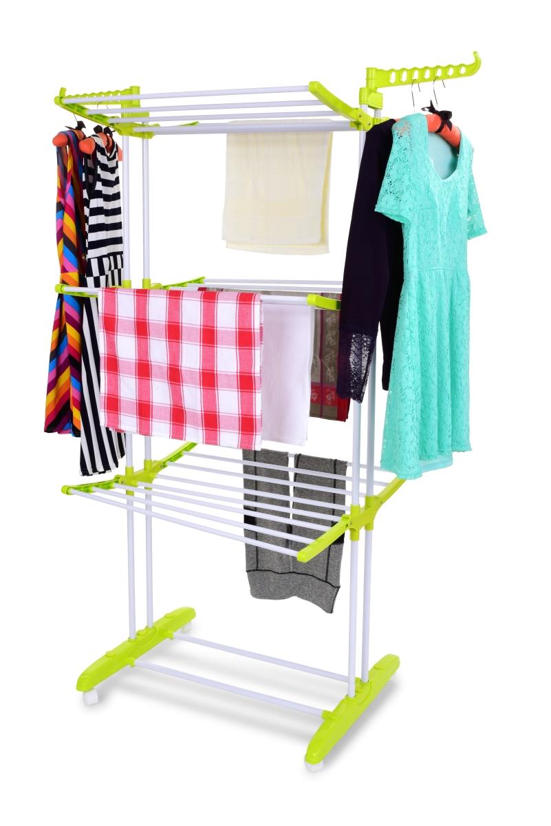 3 patrový sušák prádla TRIOETAGE ROBUSTON, na 18 m prádla a 14 ramínek