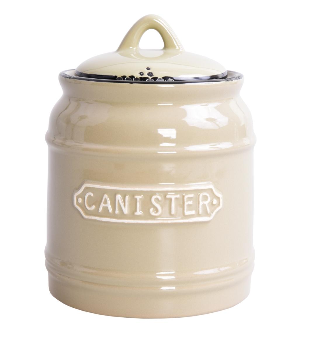 XL dóza  CANISTER 750 ml přírodní