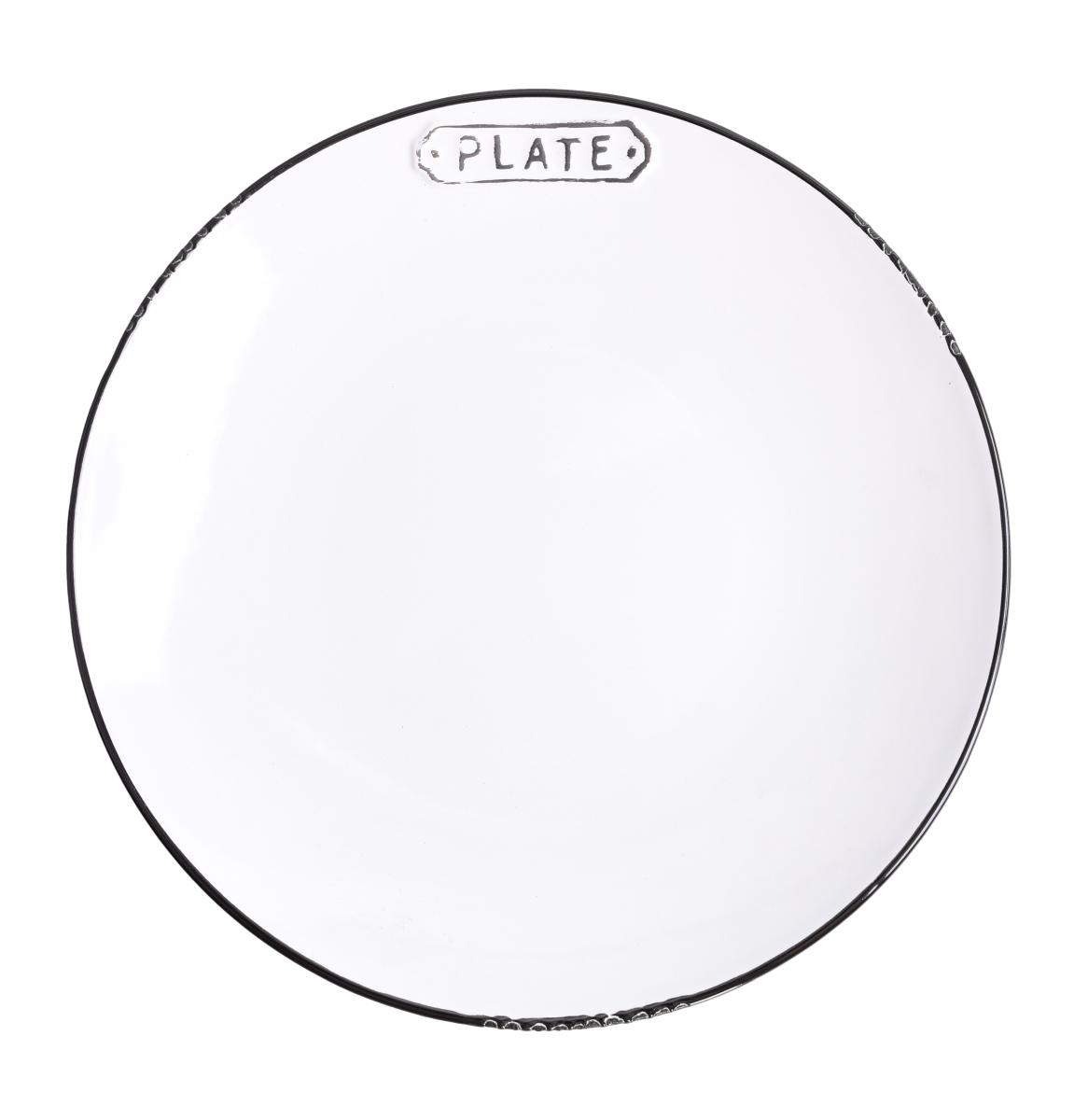 Servírovací talíř PLATE  průměr 19,5 cm