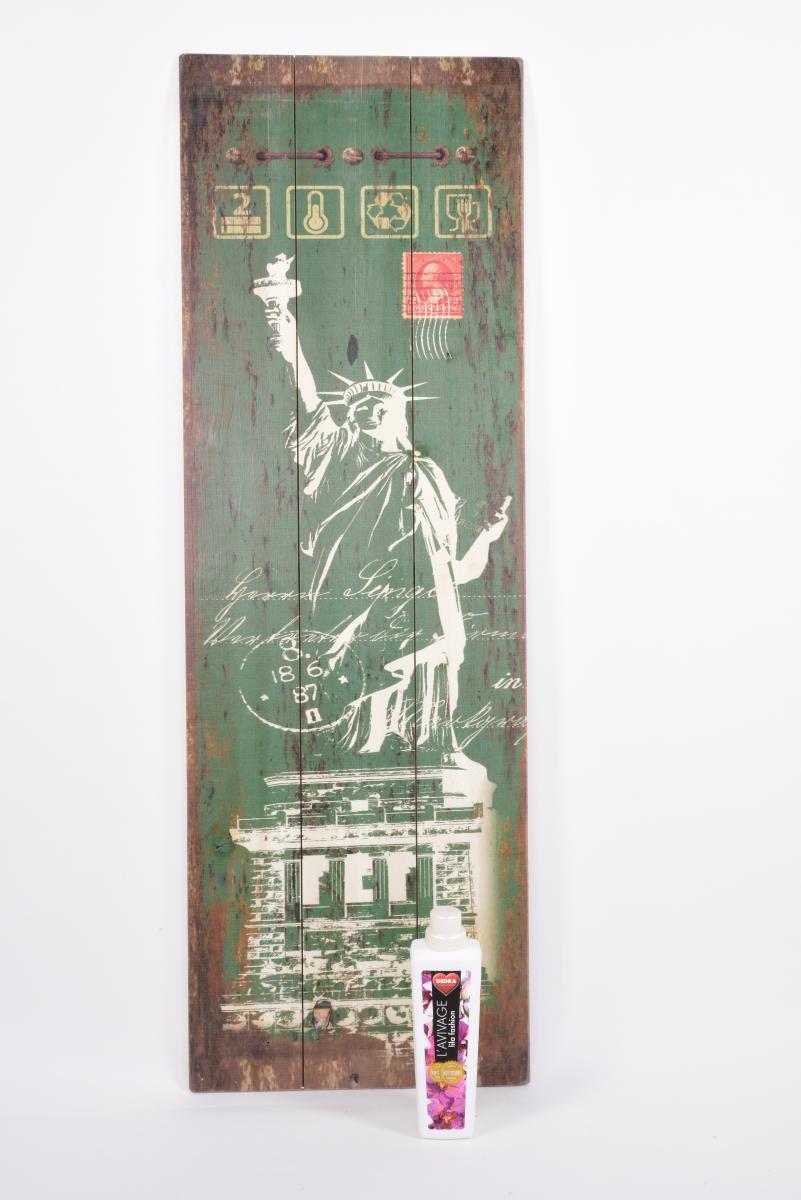 XL nástěnná cedule 120 cm, dekorativní, dřevěná