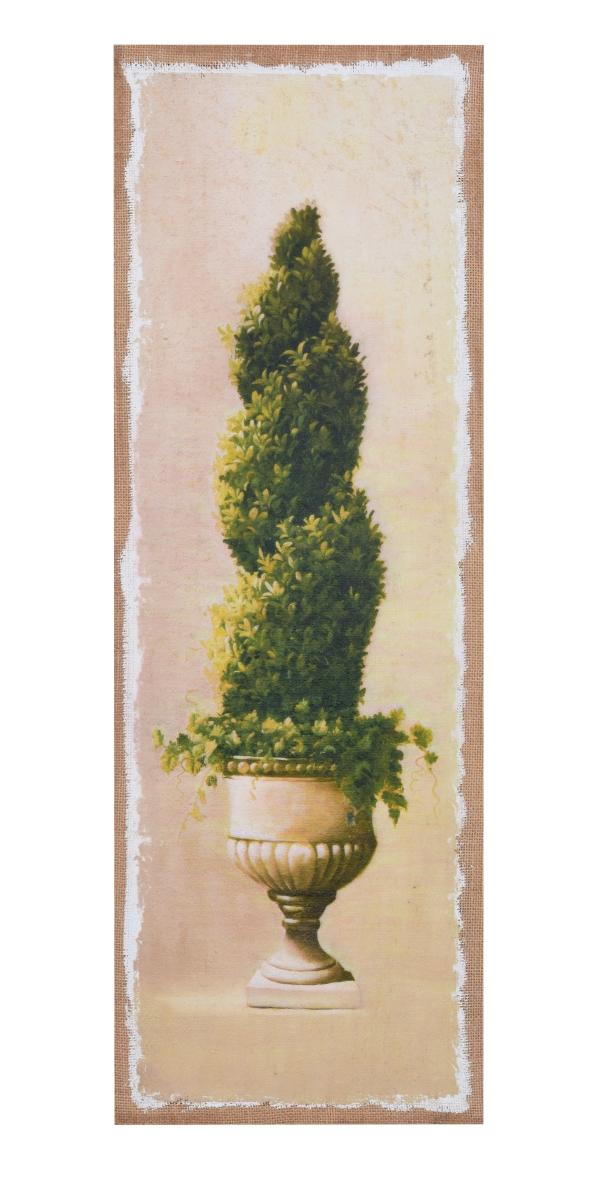 Obraz na jutovém plátně, Buxus kroucený