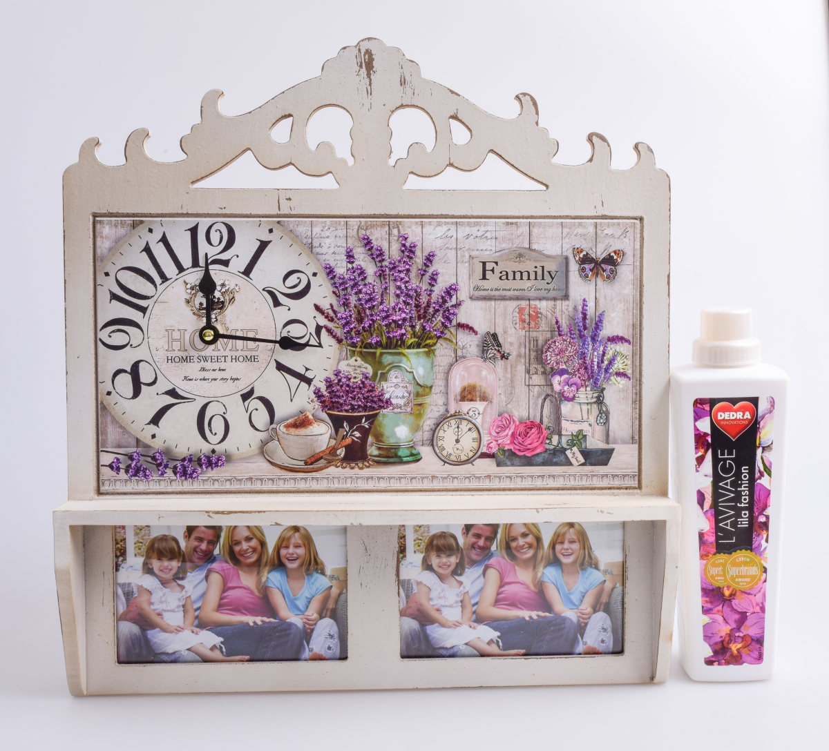 Nástěnné dřevěné dekorativní hodiny