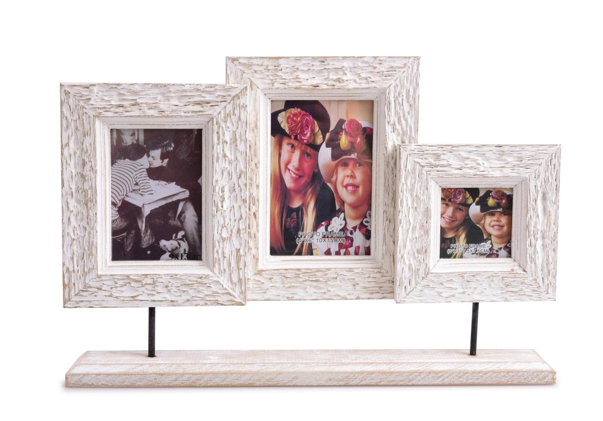 3v1 skupina tří dřevěných fotorámečků
