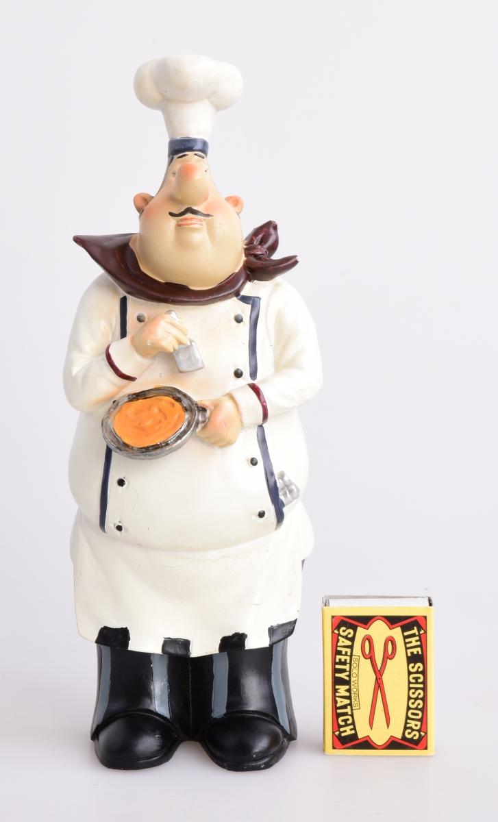 Kuchař s pánví, závěsná dekorace
