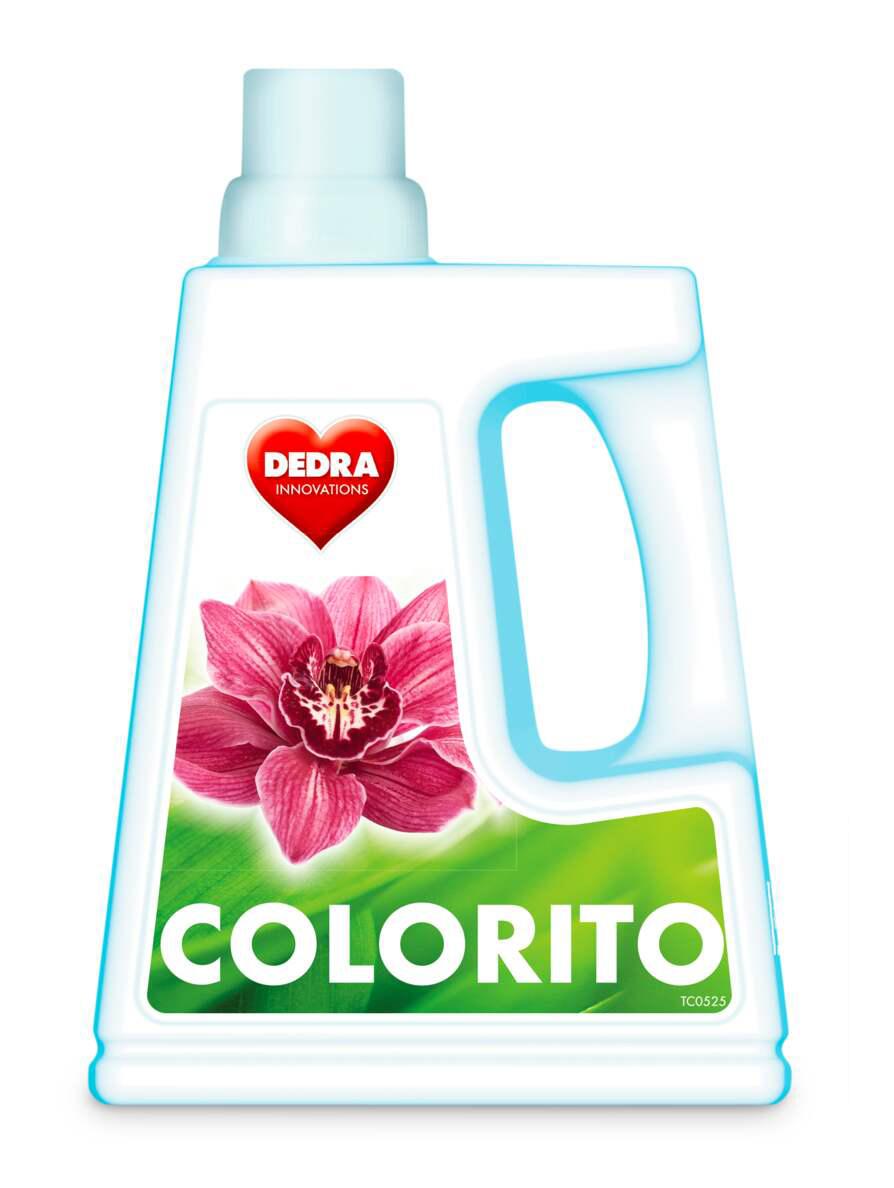 COLORITO gel na praní barevného prádla, 30 praní