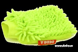 Uniwersalna rêkawiczka czyszcz±ca SASANKA(R) zielona