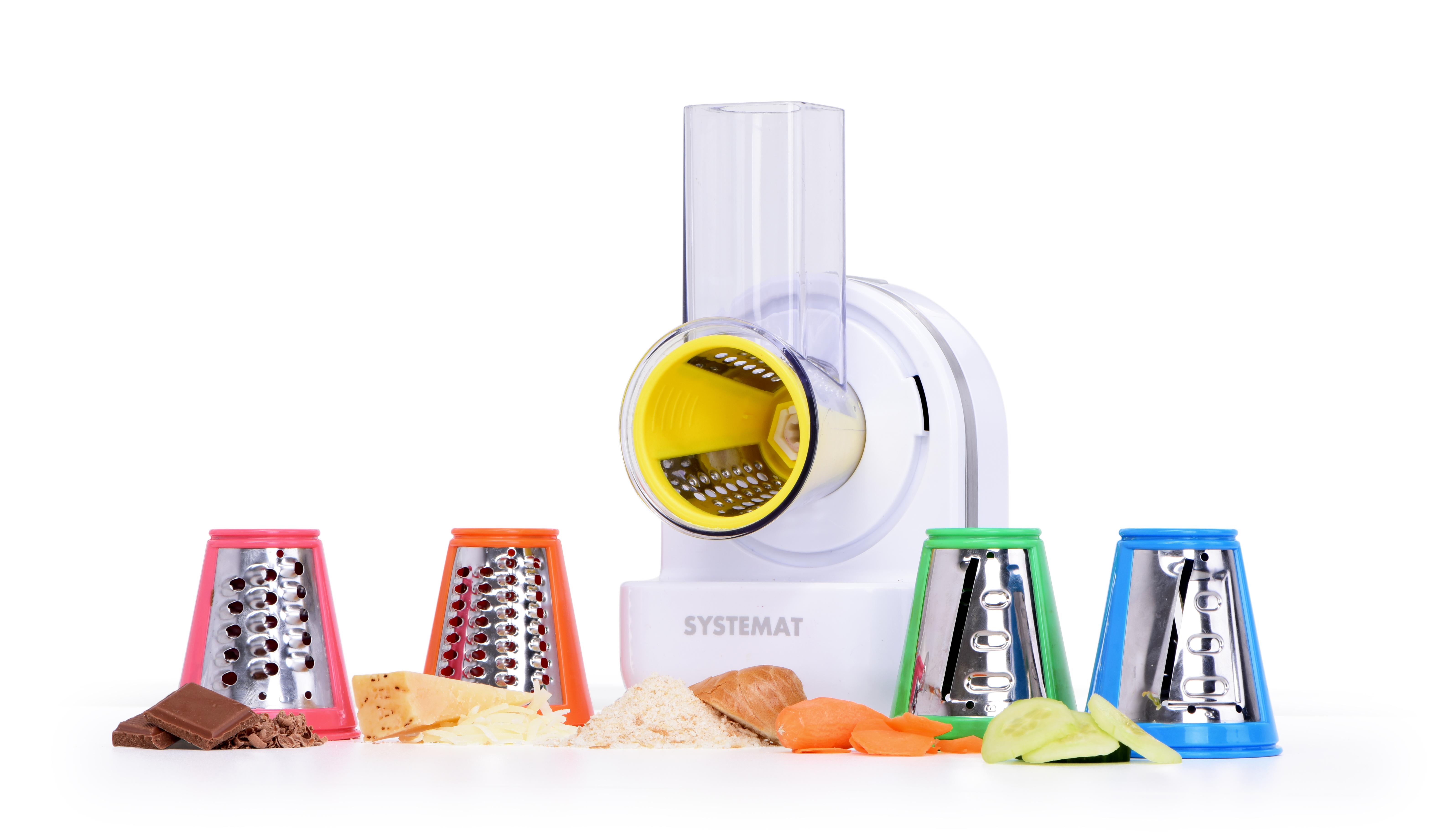 7v1 elektrické struhadlo + citrolis + zmrzlinátor MULTIGRATER, SYSTEMAT