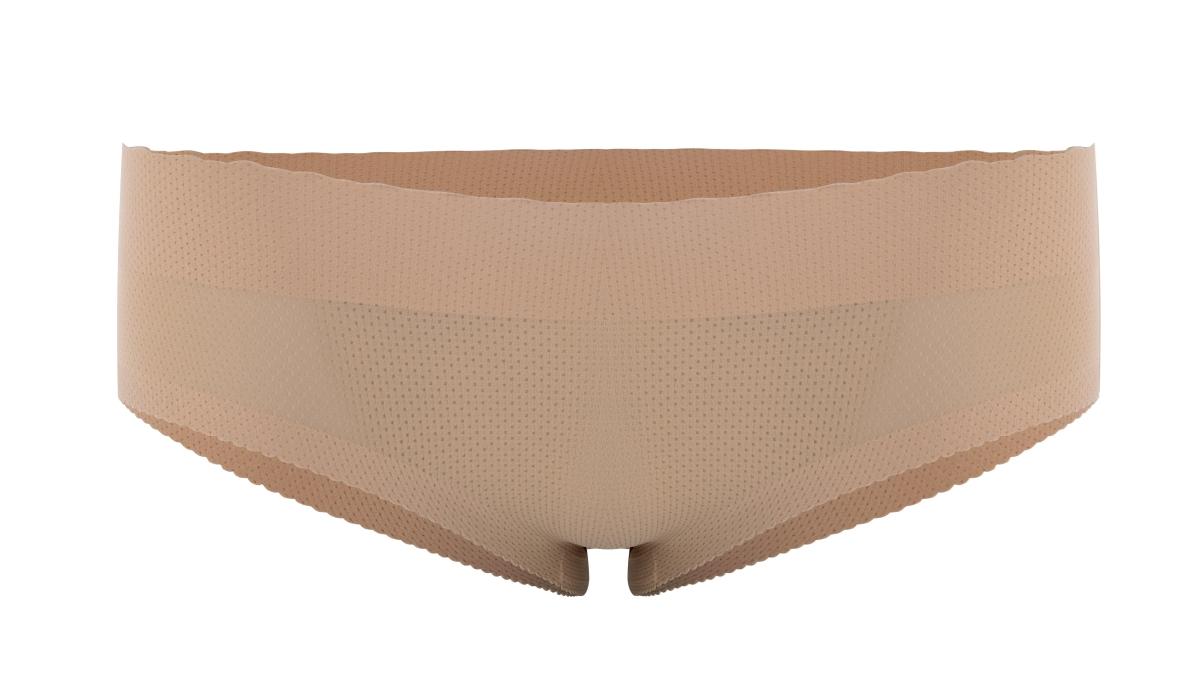 Kalhotky PUSH-UP klasický střih nude vel.1(S)