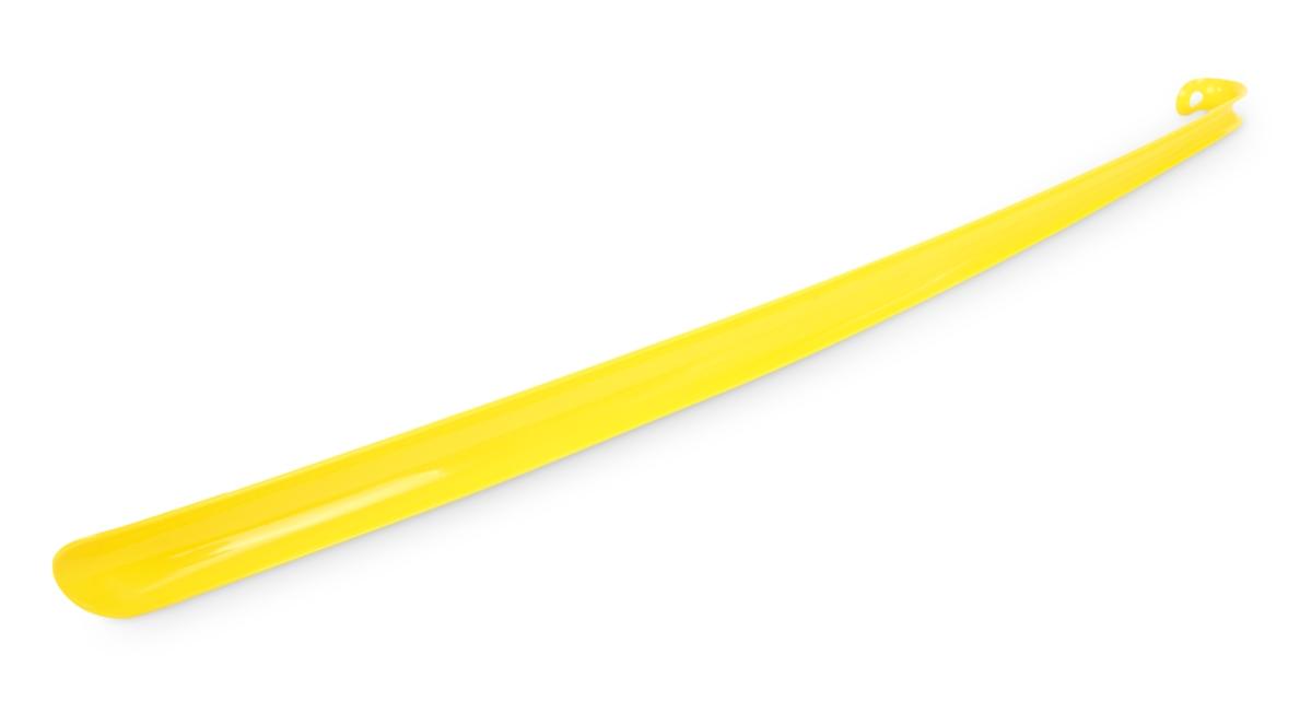 XXL NÁZOUVÁTOR lžíce na nazouvání obuvi žlutá