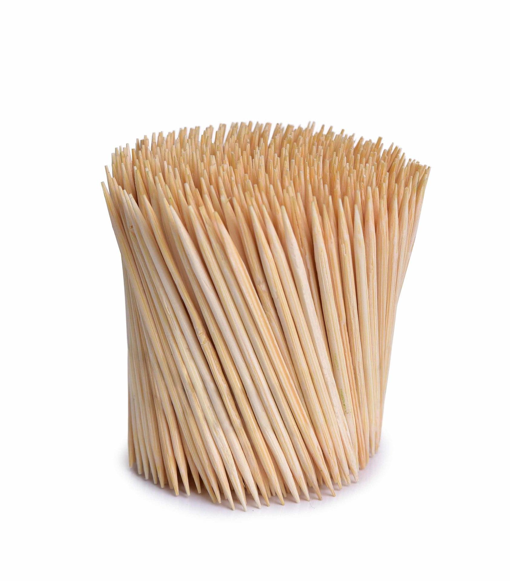 500 ks bambusová párátka GoEco®, v papírové krabičce