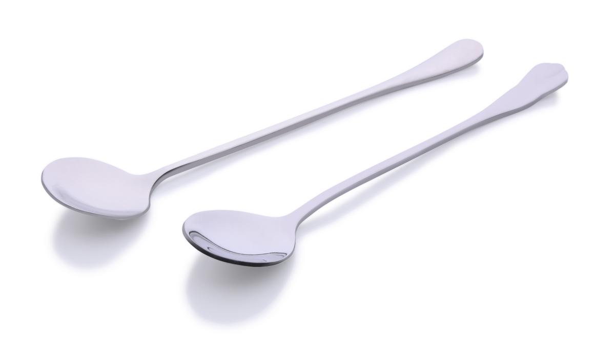 Kulatá tenká lžička na jogurty a latte