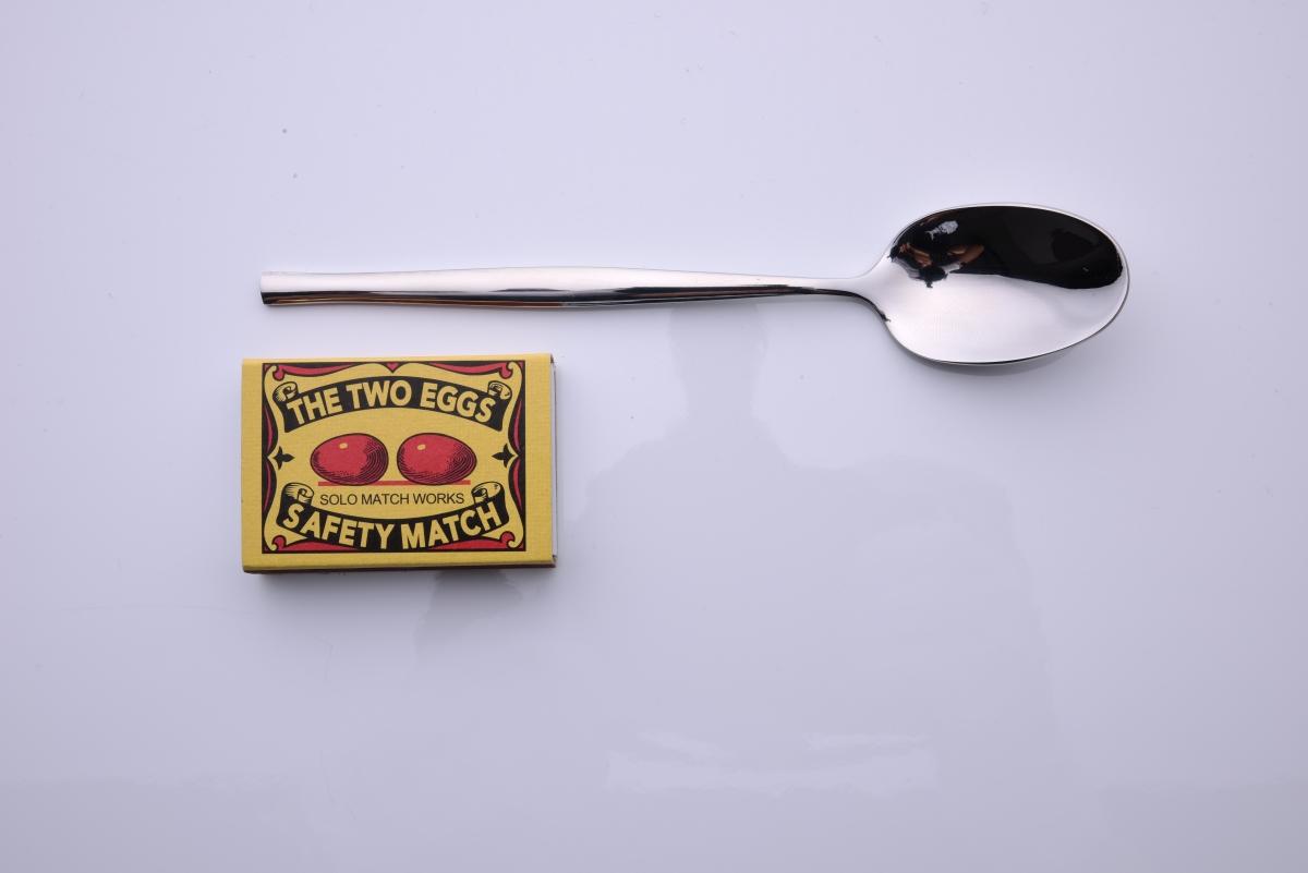FC18984-Zažeňte polievková lyžica z ušľachtilej ocele