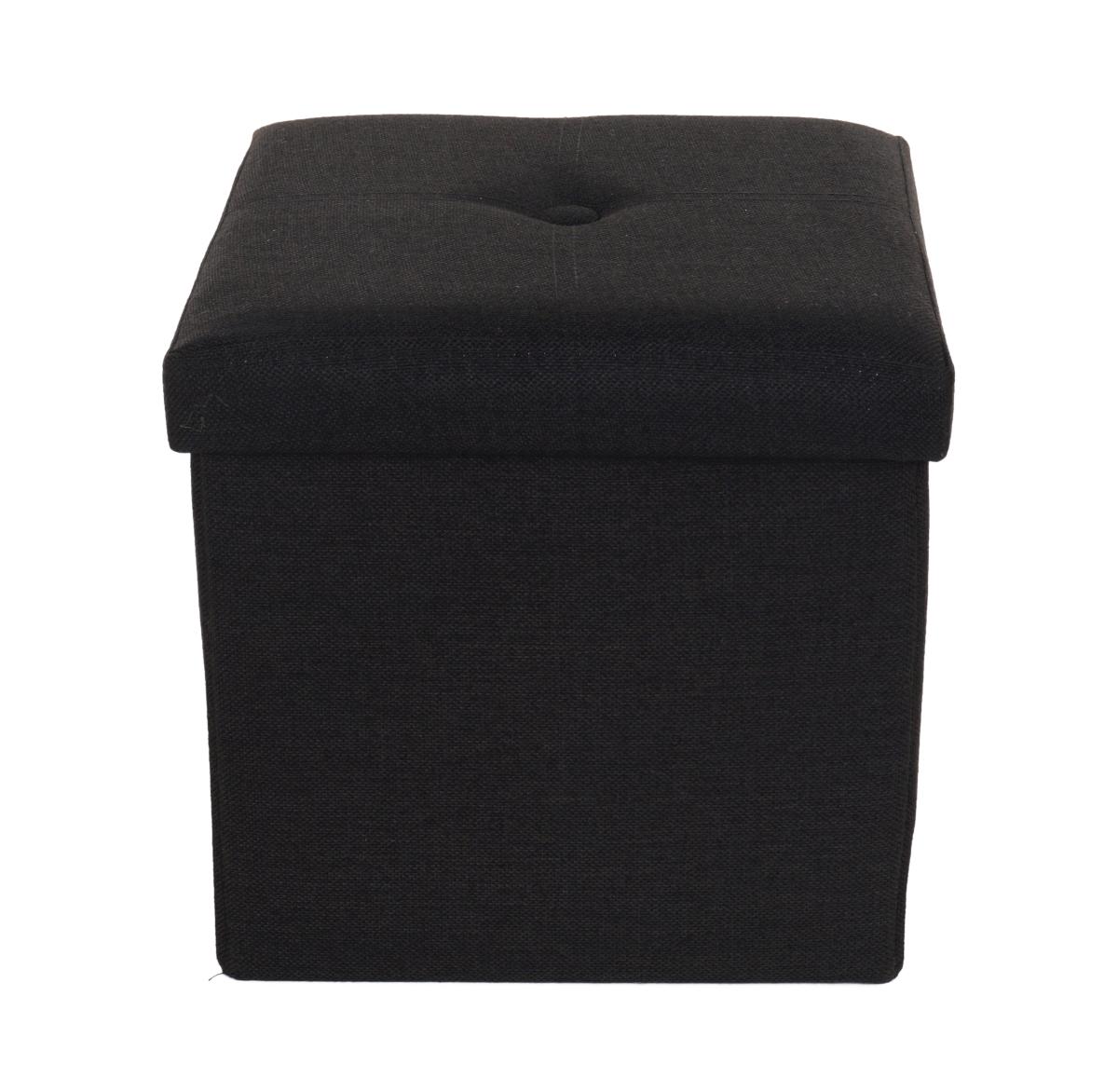 FC18861-Sedacia boxer skladací s úložným priestorom čierny