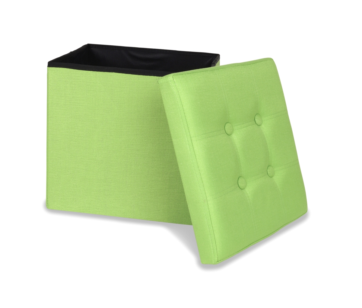 FC18852-Sedacia boxer skladací s úložným priestorom hráškovo zelený