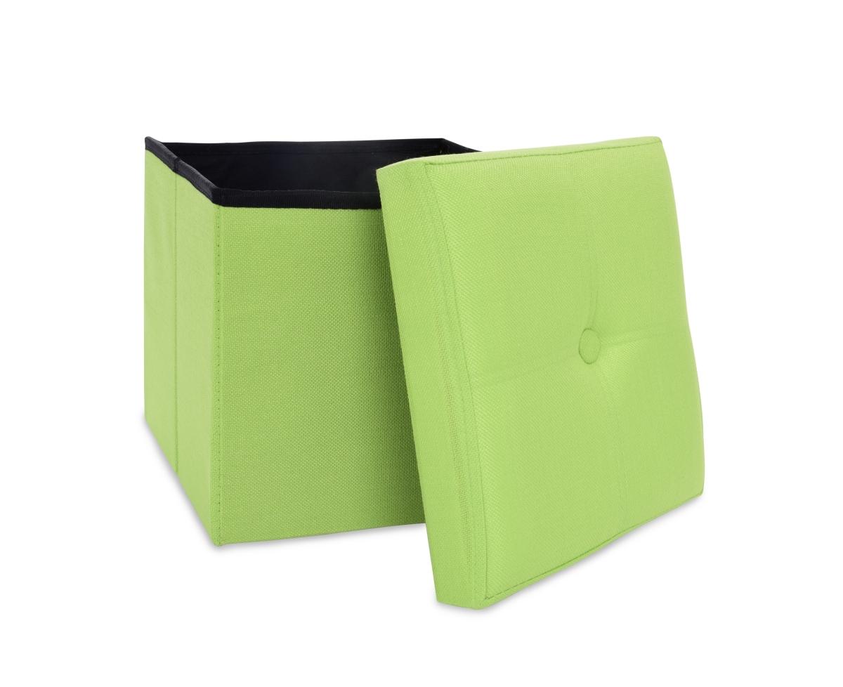 FC18851-Sedacia boxer skladací s úložným priestorom hráškovo zelený