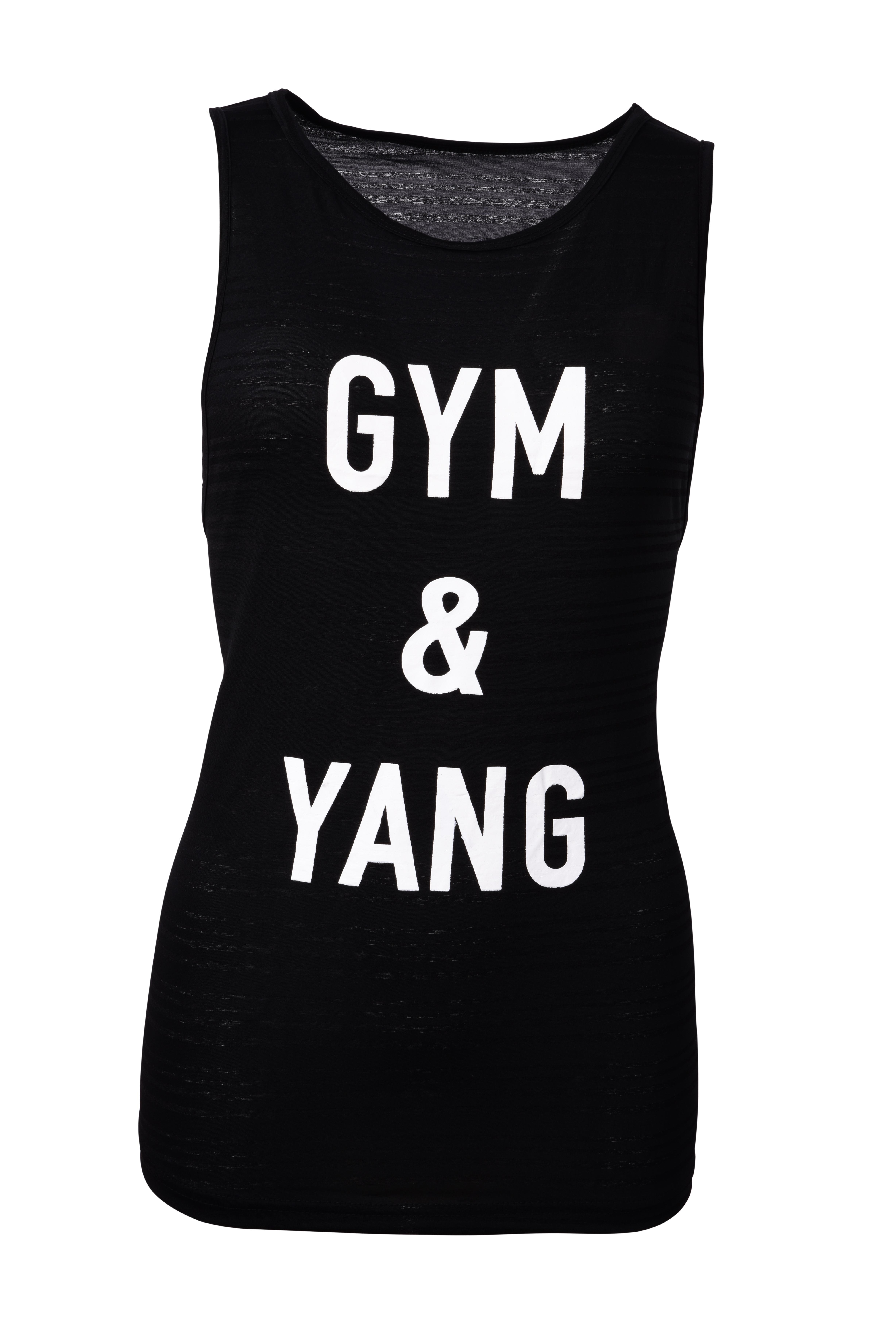 Dámské sportovní tílko GYM & YANG black vel.1(S)