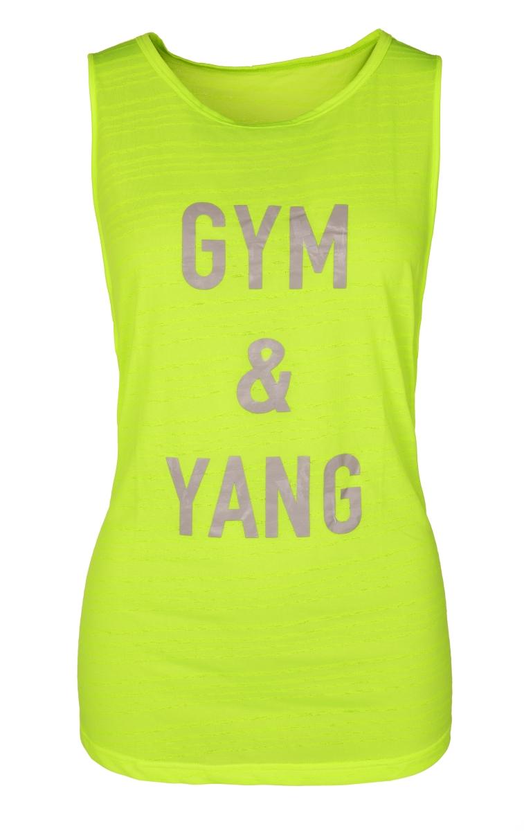Dámské sportovní tílko, GYM & YANG   vel.3(L)