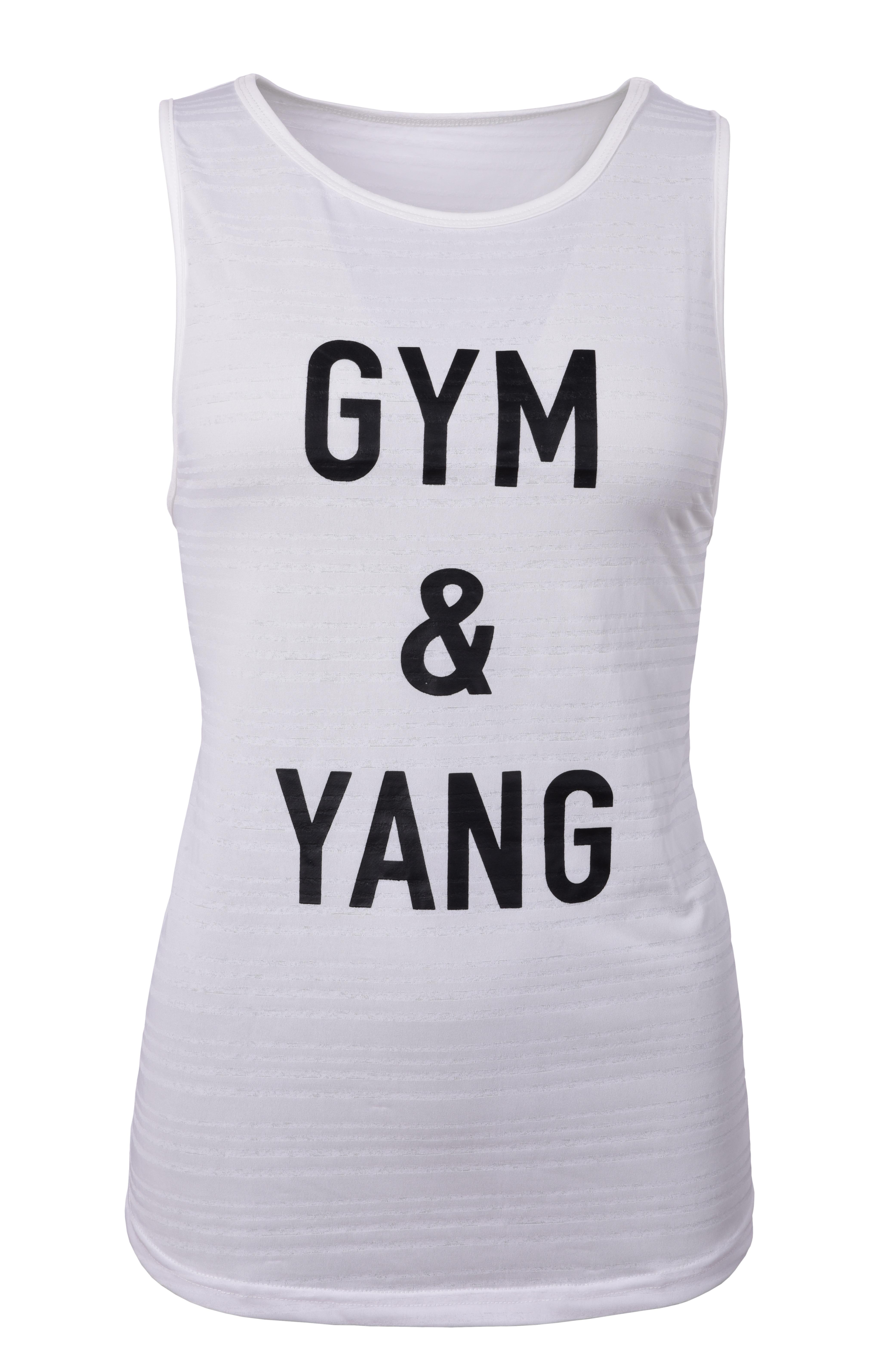 Dámské sportovní tílko, GYM & YANG   vel.1(S)