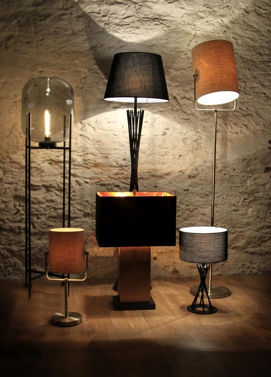 AQUA SPHERE vysoká podlahová lampa s efektní žárovkou