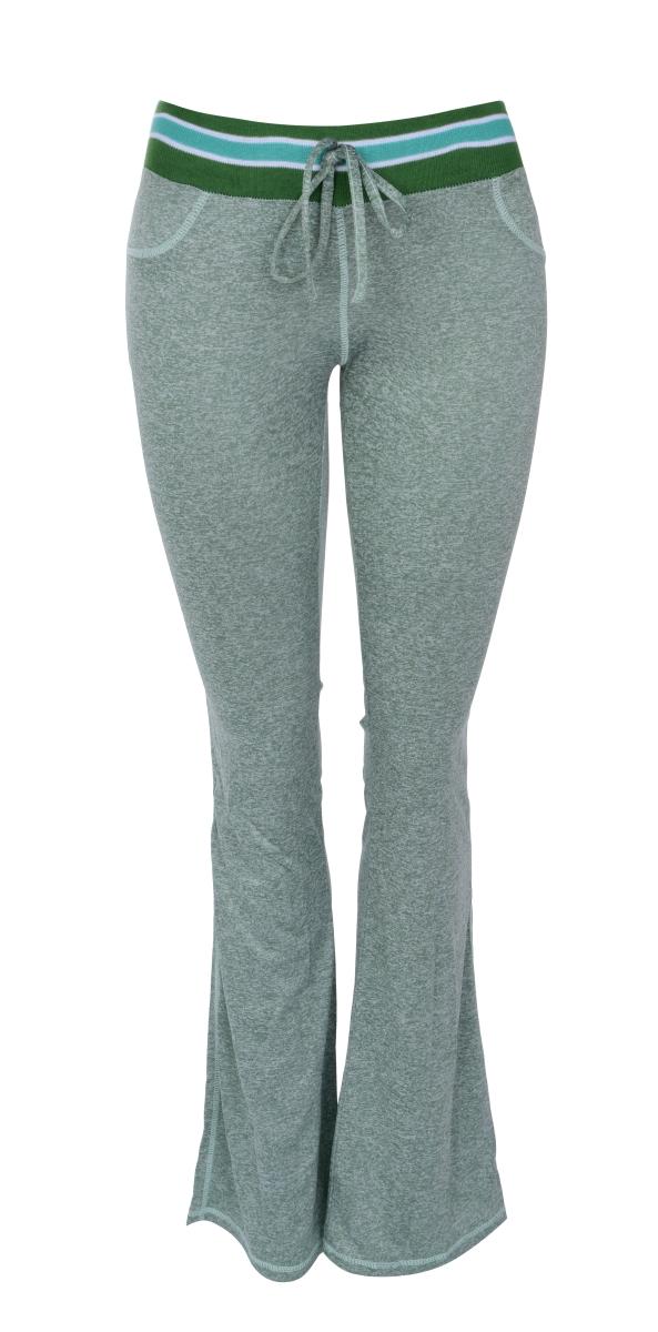Dámské kalhoty sportovní olivová melange vel.1(S)