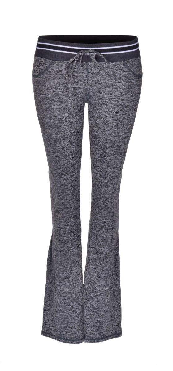 Dámské kalhoty sportovní šedá melange 1 (S)