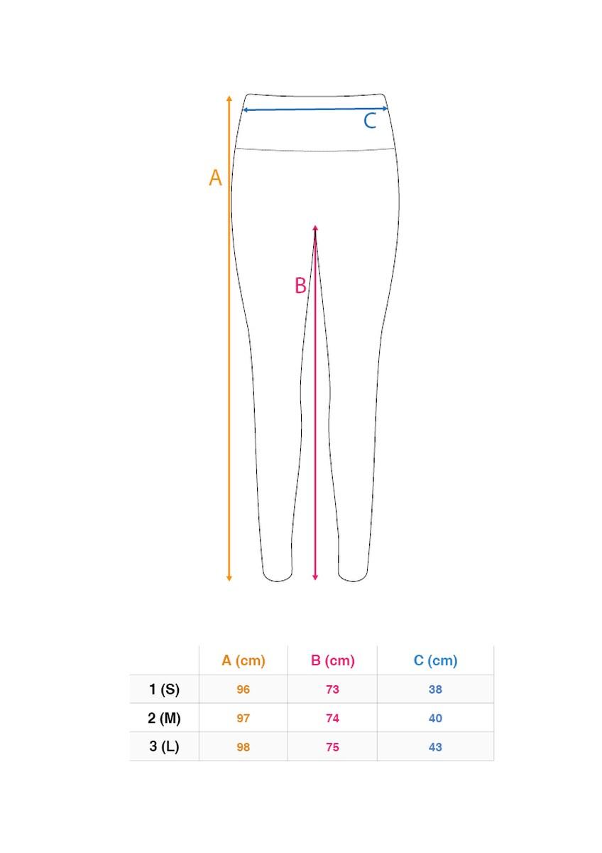 Dámské funkční legíny, dlouhé