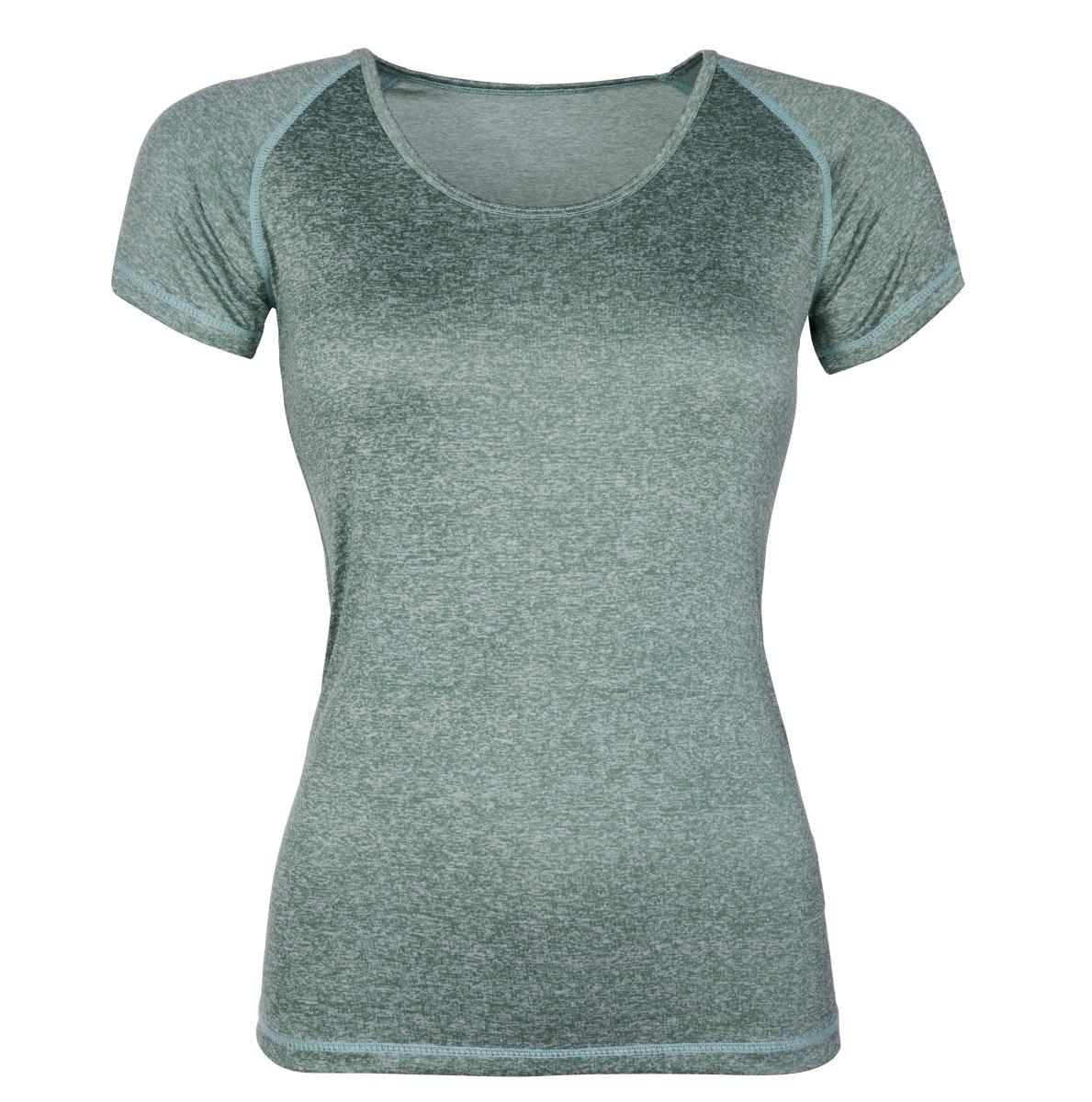 Funkční tričko dámské olivová melange vel.1(S)