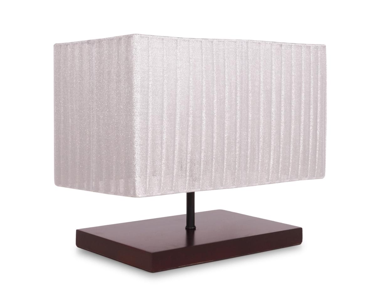 WOODER lampa s dřevěným stojanem