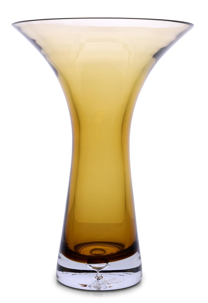 Skleněná váza, s širokým otvorem