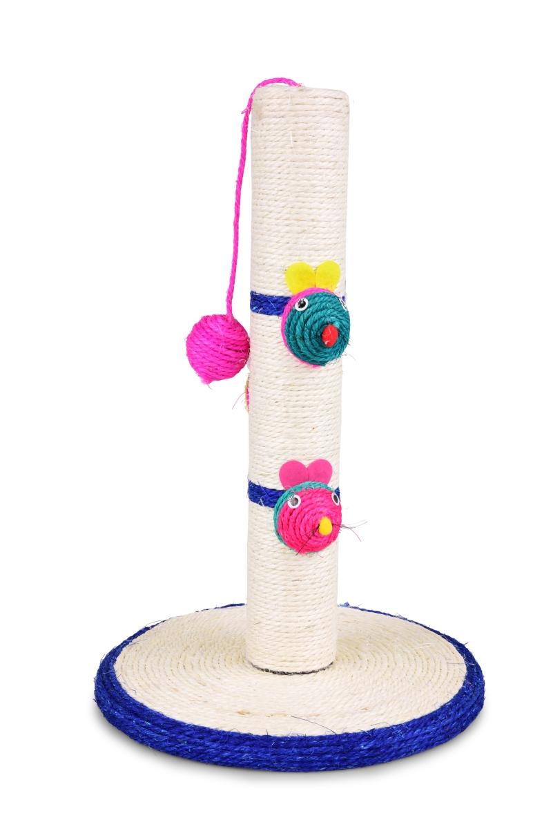 Sisalové škrabadlo s míčkem na provázku výška 44 cm