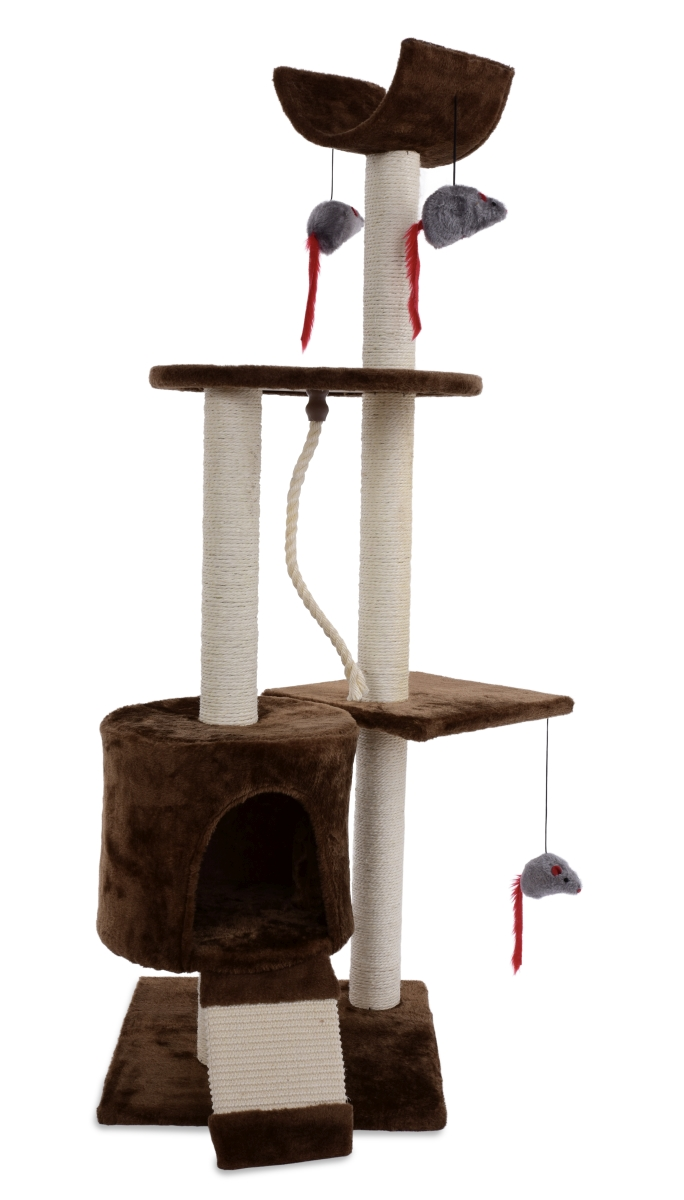 XL kočičí škrabadlo /prolézačka výška 122 cm