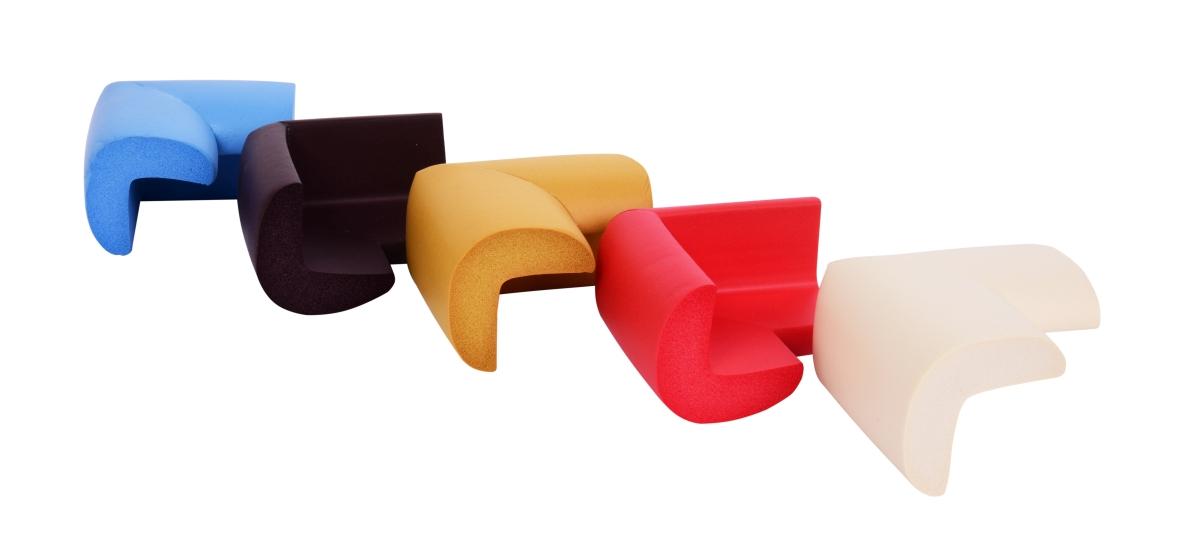 4 ks NÁRAZNÍK na rohy nábytku, okrový