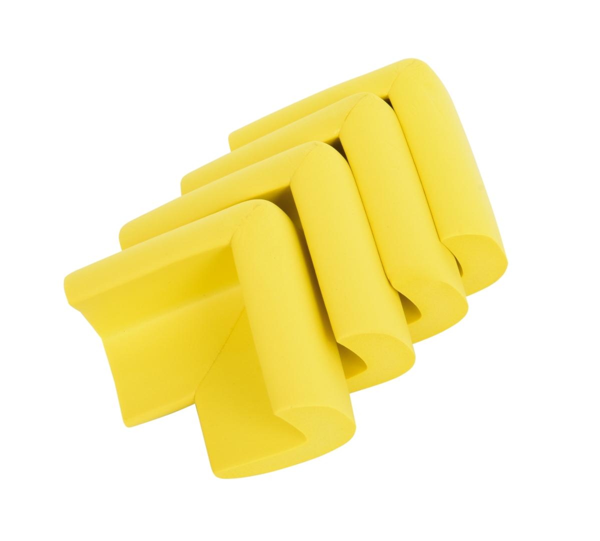 4 ks NÁRAZNÍK na rohy nábytku, žlutý