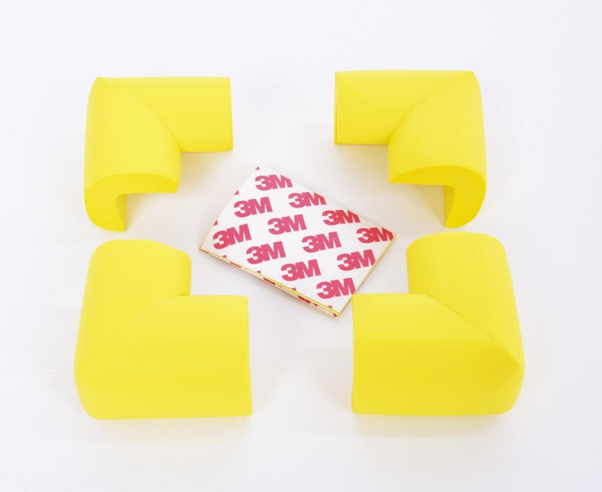 DA17471-4 ks NÁRAZNÍK na rohy nábytku žltý