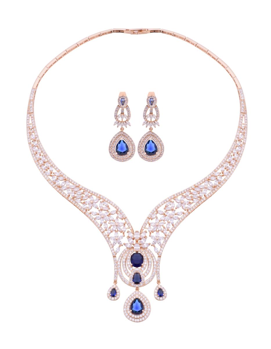 LUXUSNÍ SET, náhrdelník a náušnice
