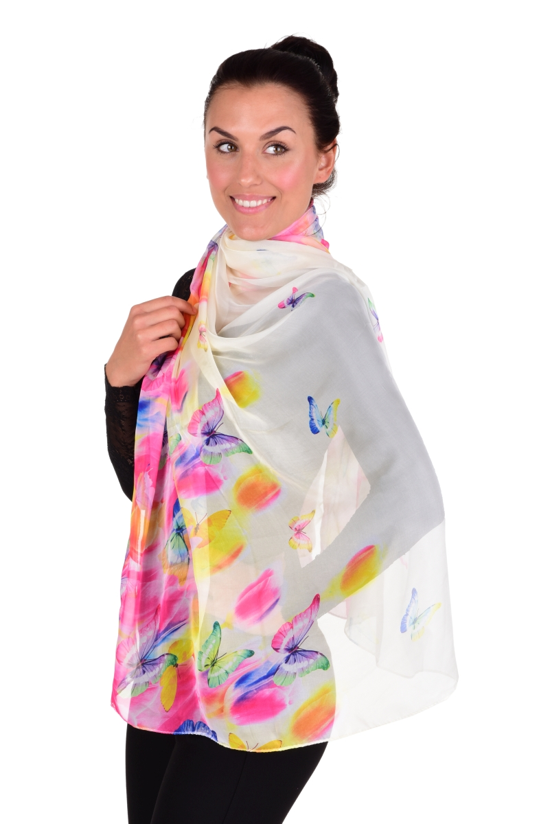 COLORÉ XXL maxi šátek, elegantní a vzdušný