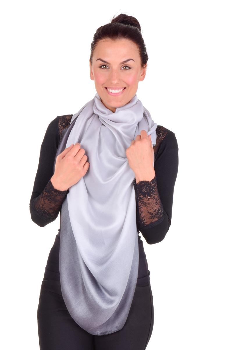 OMBRÉ XXL maxi šátek, elegantní a vzdušný