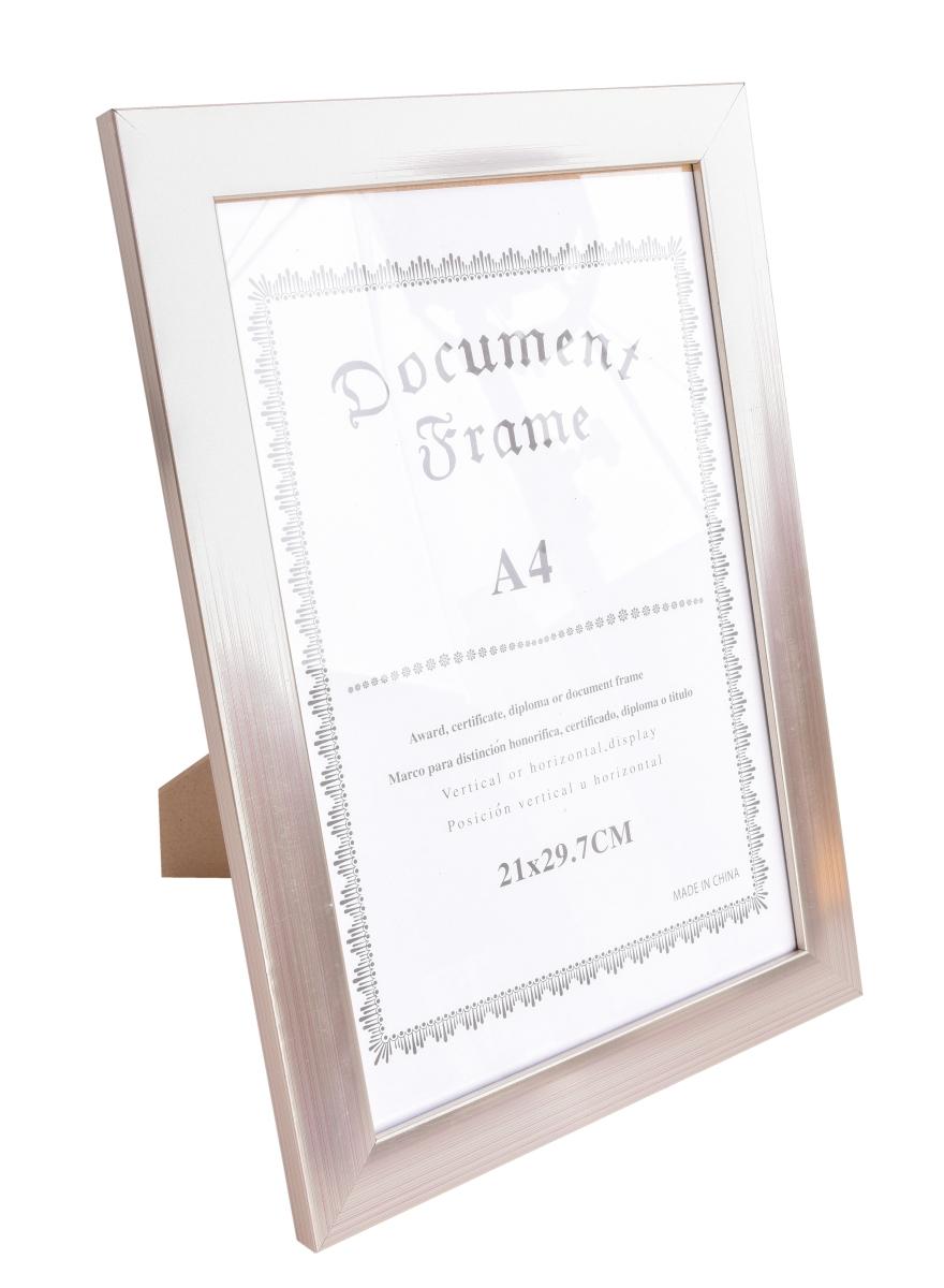 Dřevěný fotorámeček metalic na foto 21 x 30 cm