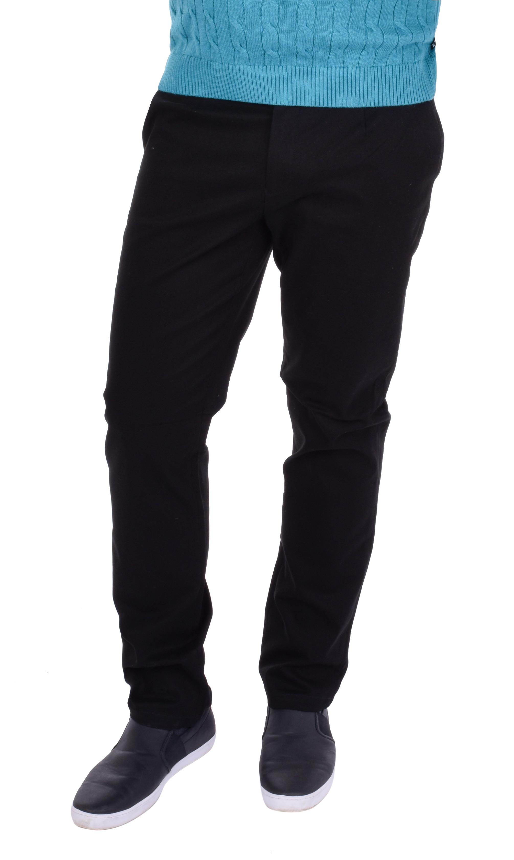GABARDIN pánské kalhoty   černé vel.1(30)