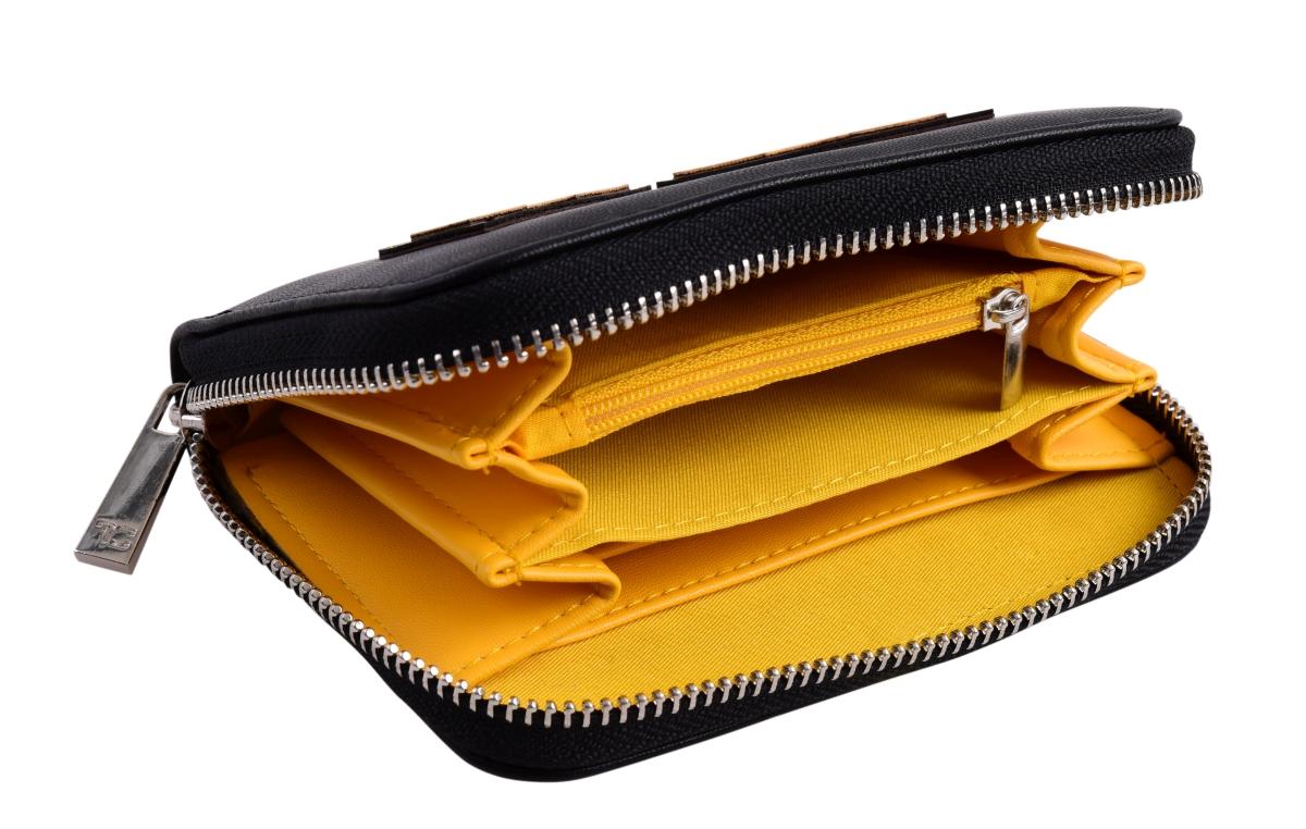 FC16721-Peňaženka REBELITO® z ekokože black