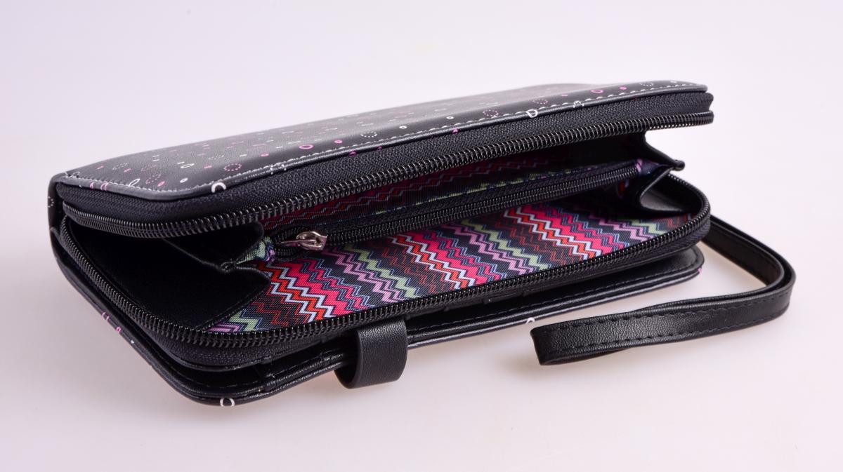 FC16713-Peňaženka KIKISTAR® z ekokože black