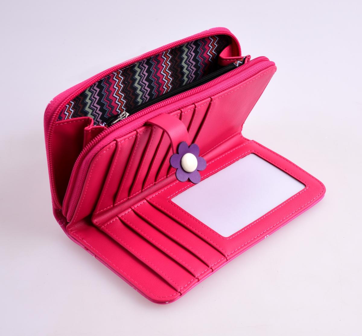 FC16711-Peňaženka KIKISTAR® z ekokože pink