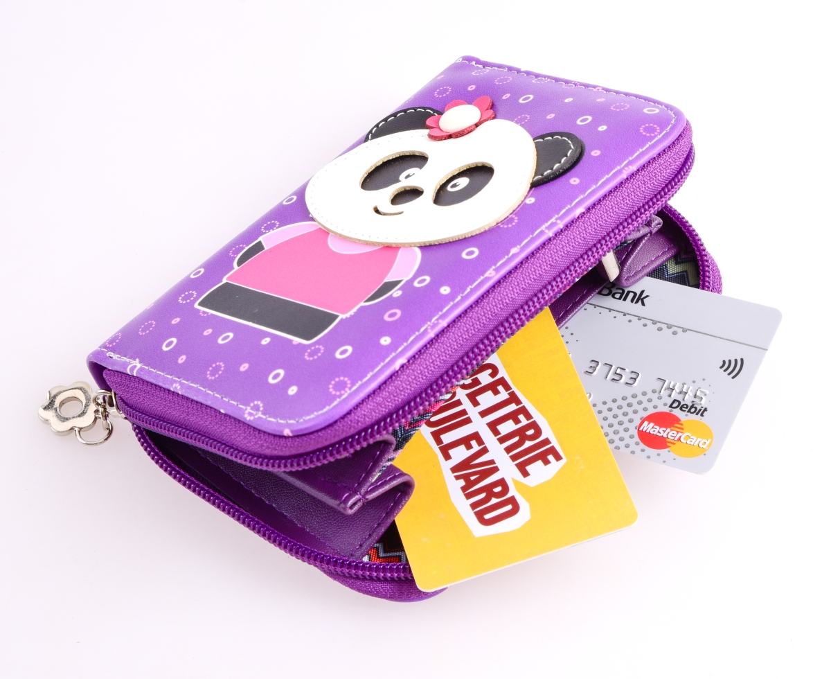 FC16692-Peňaženka KIKISTAR® z ekokože violet