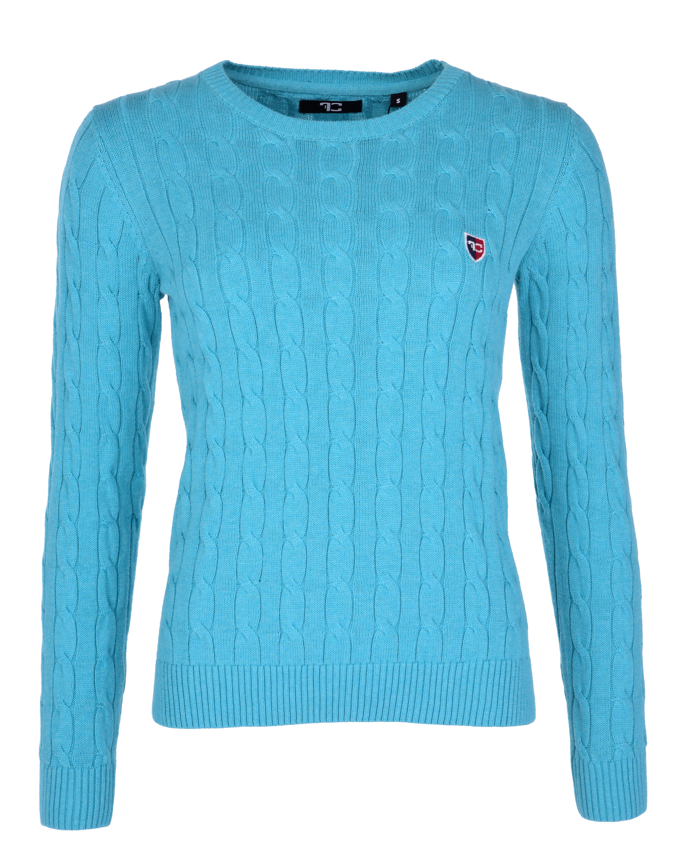 COTTON CHARMANTÉ dámský svetr mintová melange 3(L)