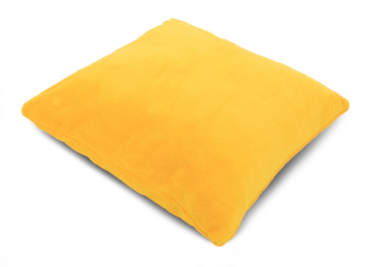 LAGOON potah na polštář žloutkový